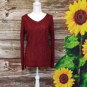 Sweaters - Faded glory  pullover women's sweater Size 8/10